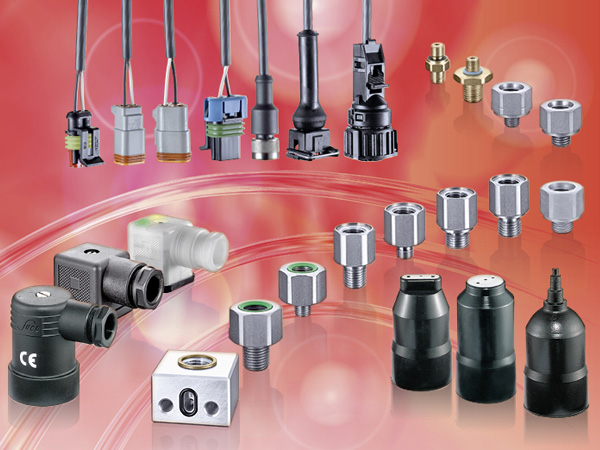 SUCO accessories for mechanical pressure switches