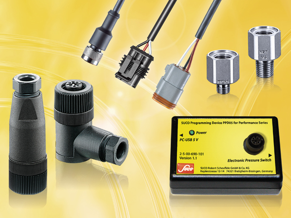 SUCO Accesories for electronic pressure switches